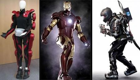 Homem de Ferro e os super-exoesqueletos da vida real