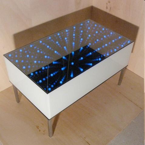 Mesa luminosa 3D