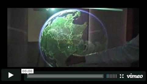 Máqui de holografia holográfica