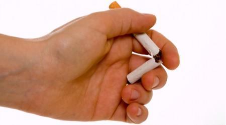 Reunir ervas para deixar de fumar