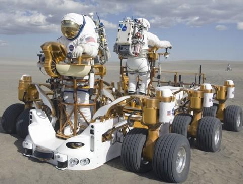 Veículo lunar irado