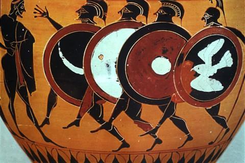 hoplitodromos corrida