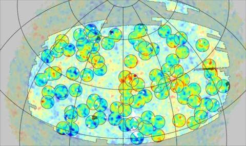 mapa do universo