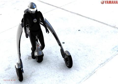 motocicleta exoesqueleto