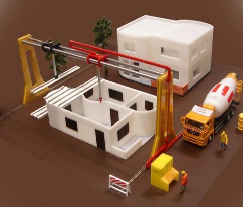 contrução robótica de casa