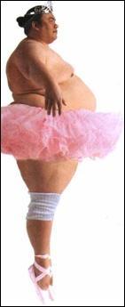 Com exceção desta bailarina aqui