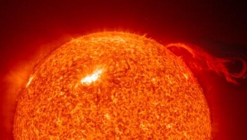 sol - nuvem de plasma