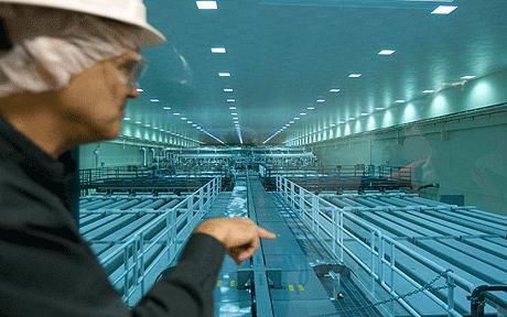 estrutura de mais de 1km que gera e repassa o laser para a fusão nuclear