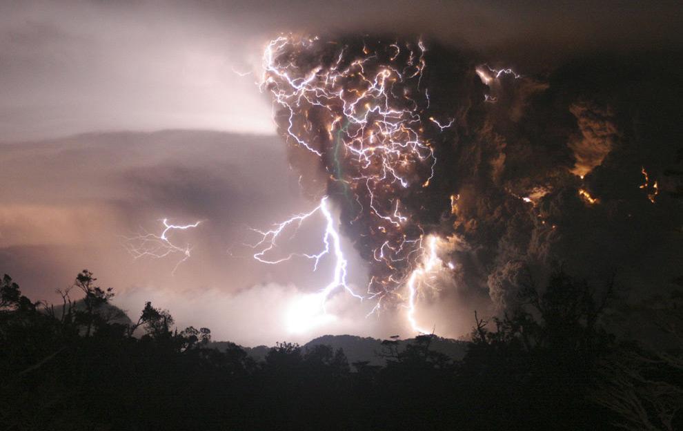 tempestade raios