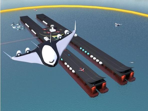 aeronave avião do futuro