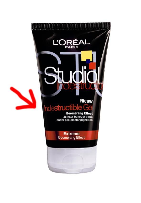 gel de cabelo do Obama