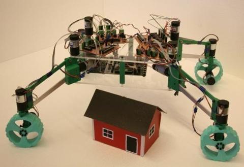 robo construirá casa na lua