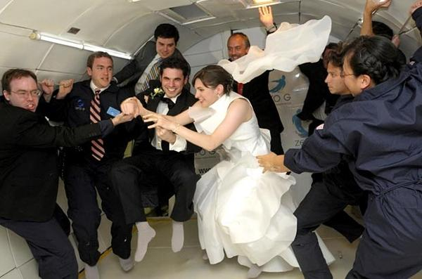 casamento gravidade zero