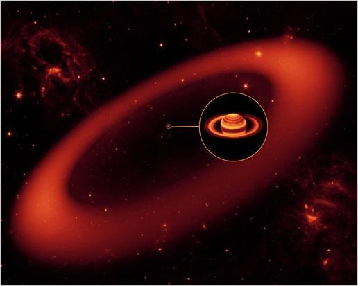 novo anel saturno