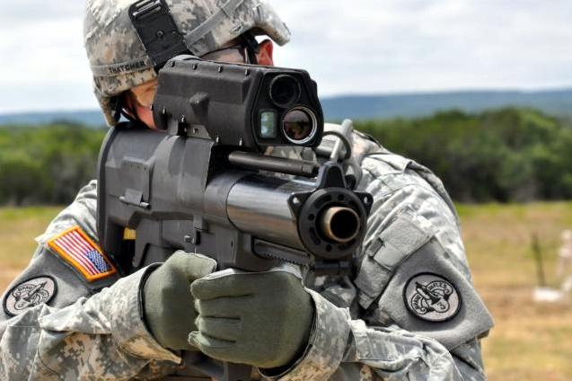 lança granadas grande