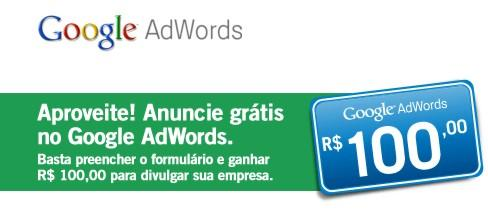 Anunciar Gratis Internet no Google Adwords