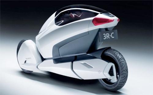 A motocicleta futurista e ecológica da Honda