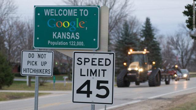 """Cidade de Topeka agora se chama """"Google"""""""