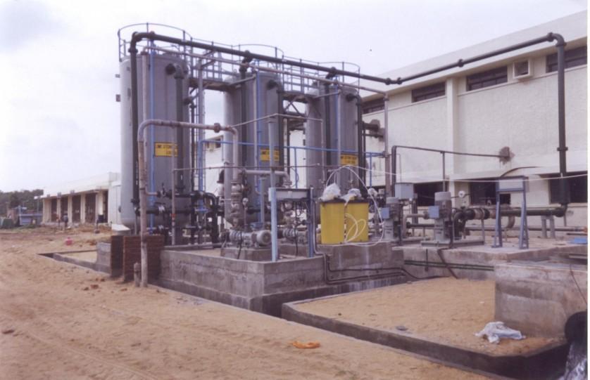 Usina de dessalinização de água