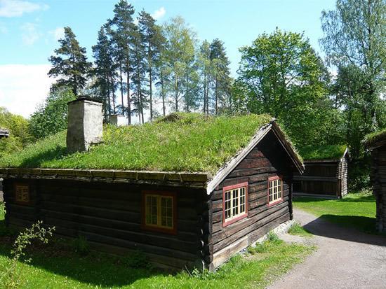As incr veis casas cobertas de grama da noruega for Design eco casa verde
