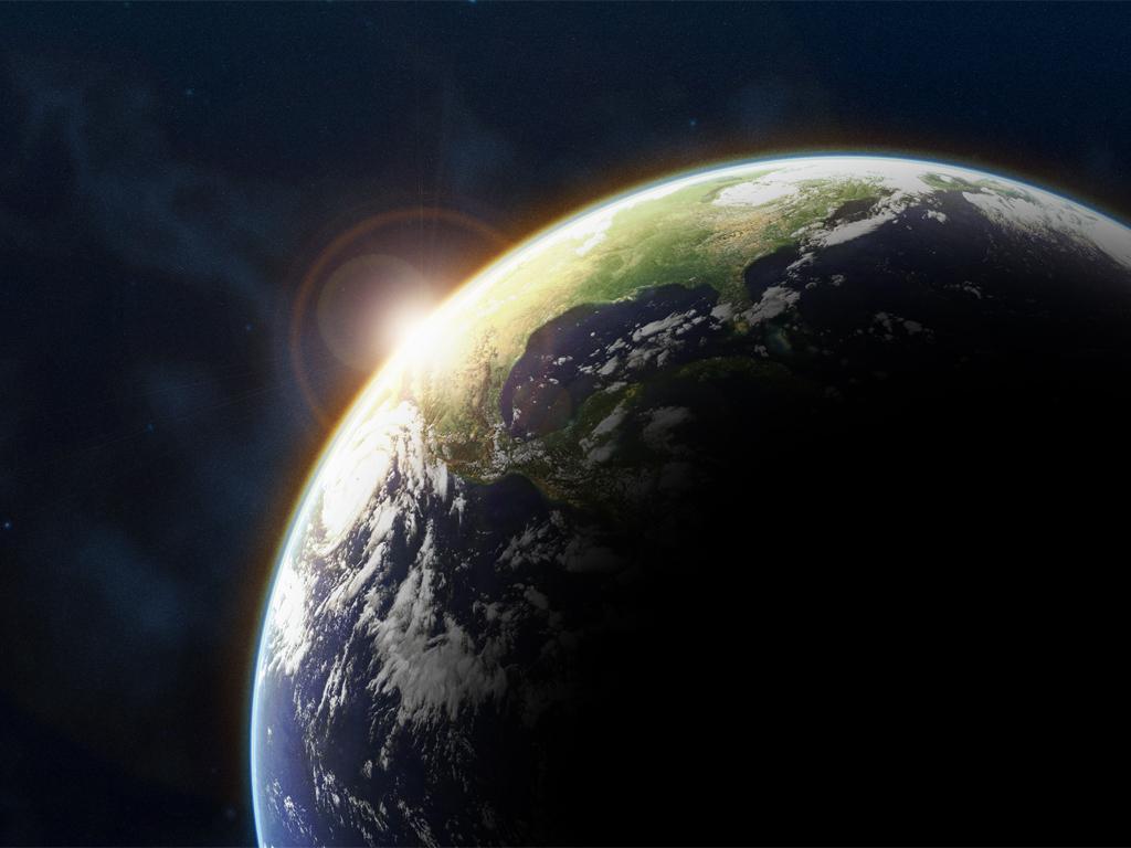 A superfície da Terra está se deslocando para o Norte