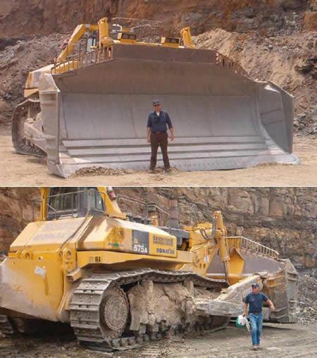 Mquinas e equipamentos quando falamos de escavadeiras afinal quanto maior ela for mais terra capaz de remover a cada empurrada e a campe dessa categoria no tem um fandeluxe Choice Image