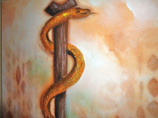 bastao asclepio simbolo medicina