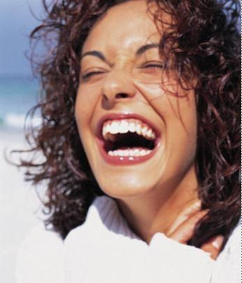 Espalhe a alegria: ria de boca aberta