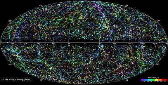 mapa 3D do universo