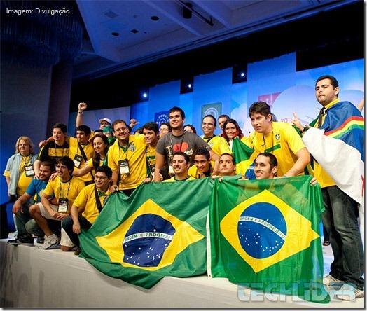 Equipe Brasileira Tricampeã da Imagine Cup