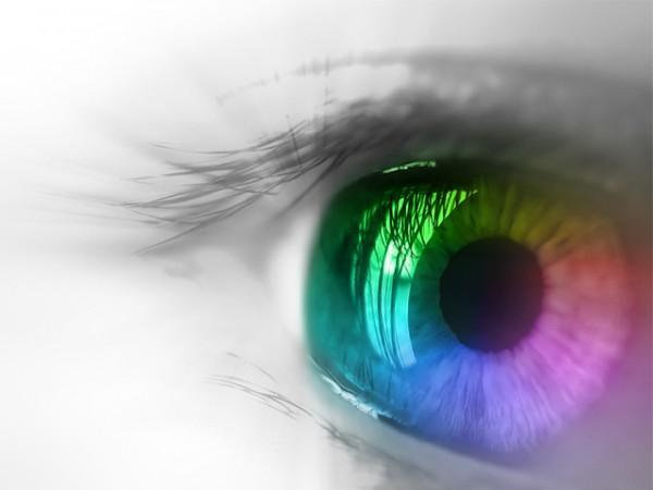 A cor não existe  o que você vê é luz 147b3a4801