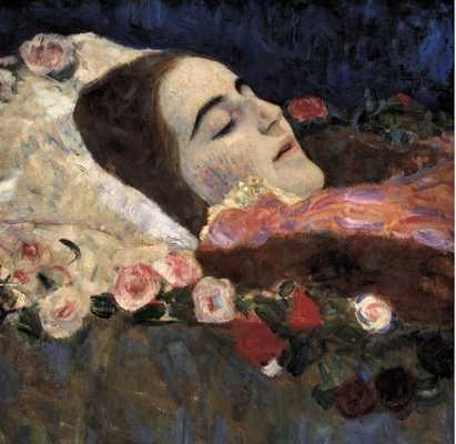 gustav-klimt-ria-munk-on-her-deathbed-by-savio-s-vintage-art-qpps_411393873630167