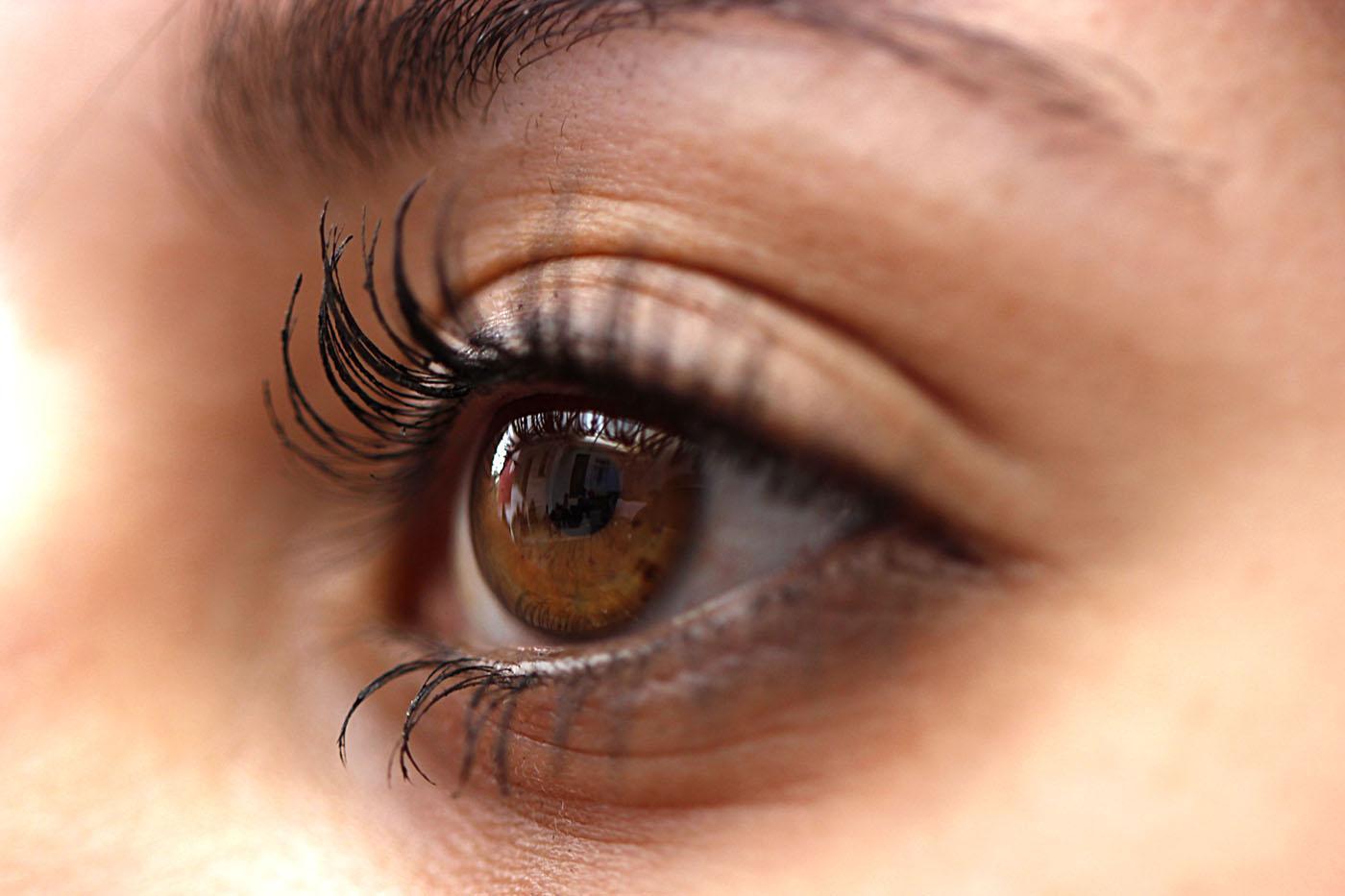Dos Olhos Dos Olhos de Uma Pessoa