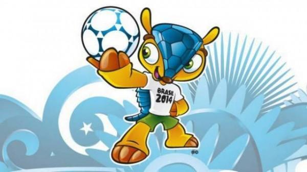 mascote da copa 2014 tatu bola