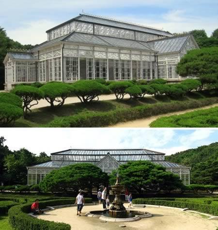 Fazendo jus ao tamanho de seu nome, o Changgyeonggung Palace é um dos cinco maiores palácios da Coreia. Sua estufa é a primeira do país, construída em 1907, e contém plantas raras (inclusive espécies tropicais)