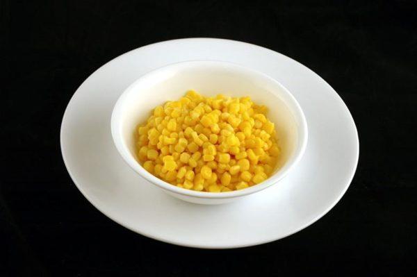 Milho enlatado - 308 gramas= 200 calorias