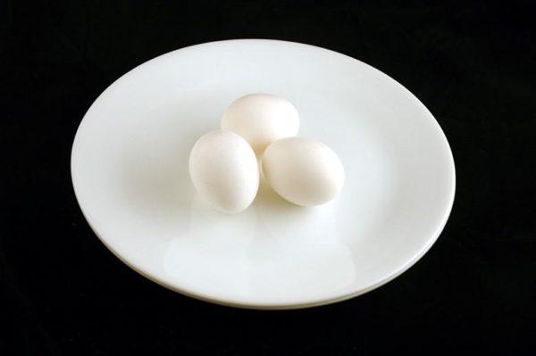 Ovos - 150 gramas= 200 calorias