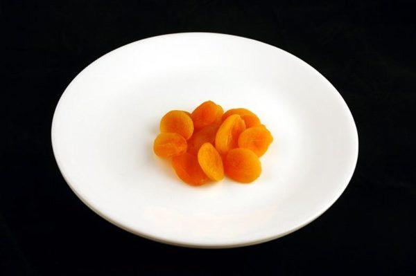 Damasco seco - 83 gramas= 200 calorias