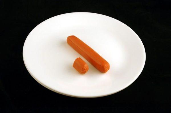 Salsicha - 66 gramas= 200 calorias