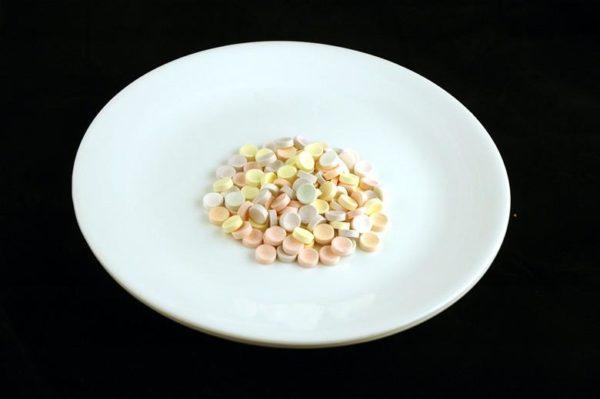 Balas - 57 gramas= 200 calorias