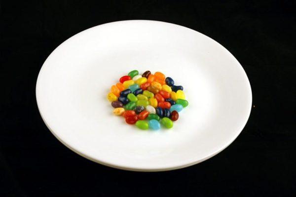 Gomas - 54 gramas= 200 calorias