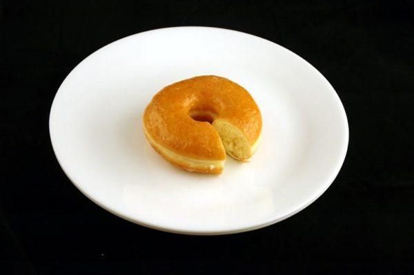 Donnut açucarado - 52 gramas= 200 calorias