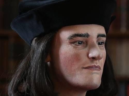 Reconstrução 3D da face de Ricardo III baseada no crânio encontrado