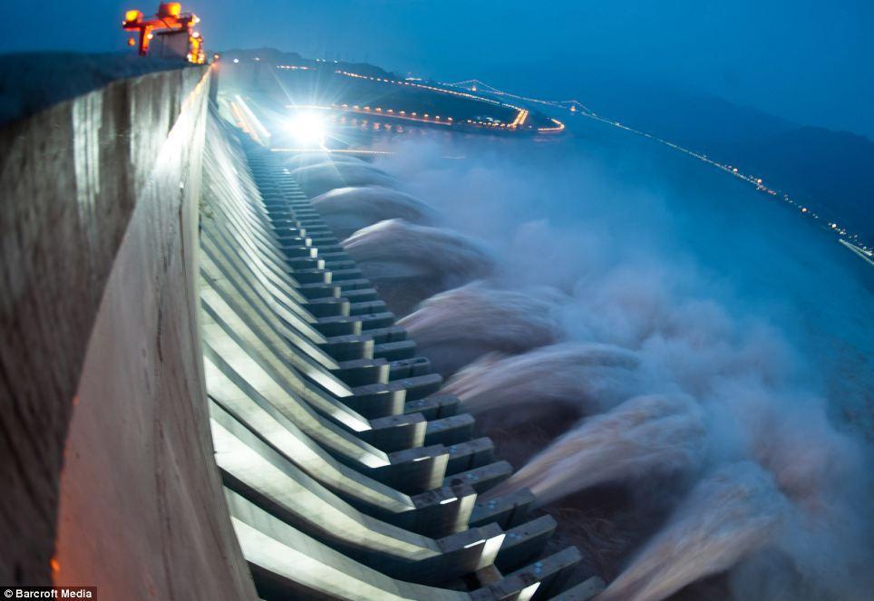 A hidroel trica que reduziu a velocidade de rota o da terra - Enorme terras ...