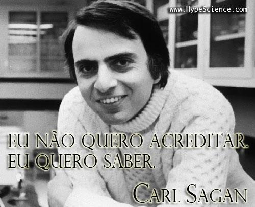 carl sagan citacao 1