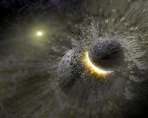planeta terra impacto