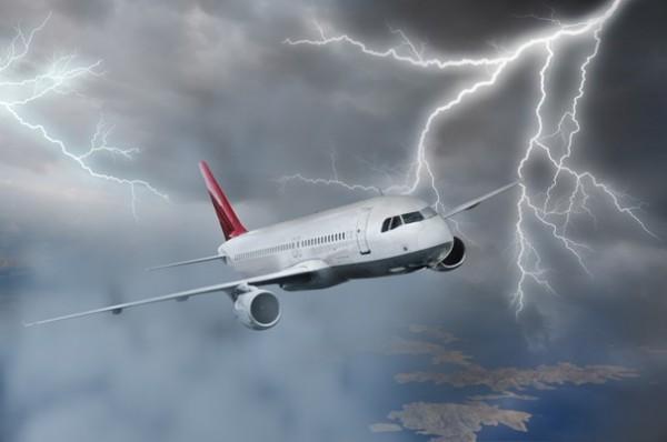 Raios negros derrubam aviões