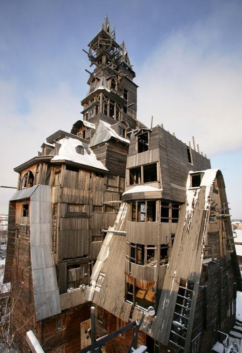 Os 10 mais bizarros prédios já construídos