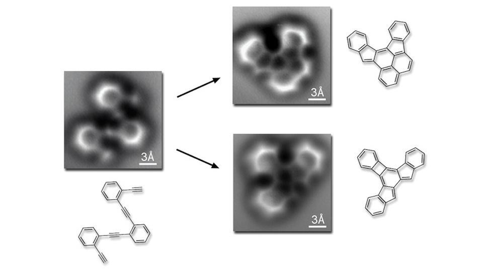 Cientistas capturam por acidente imagens inéditas de átomos se ligando