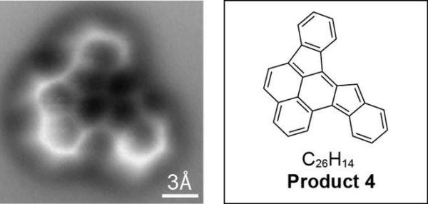 Produto 4 é uma molécula inesperada